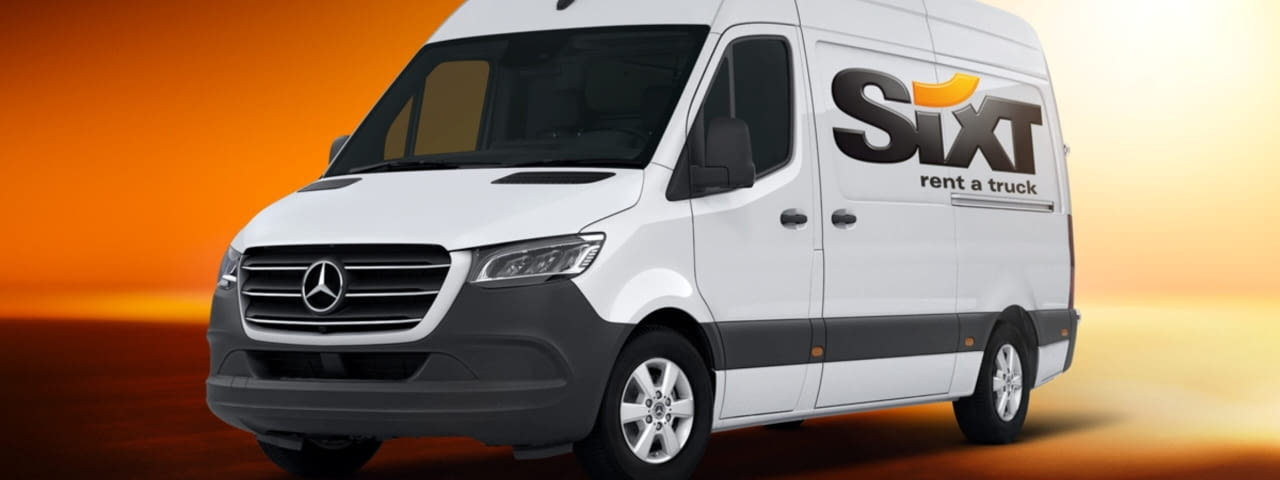 sixt transporter mercedes-benz sprinter