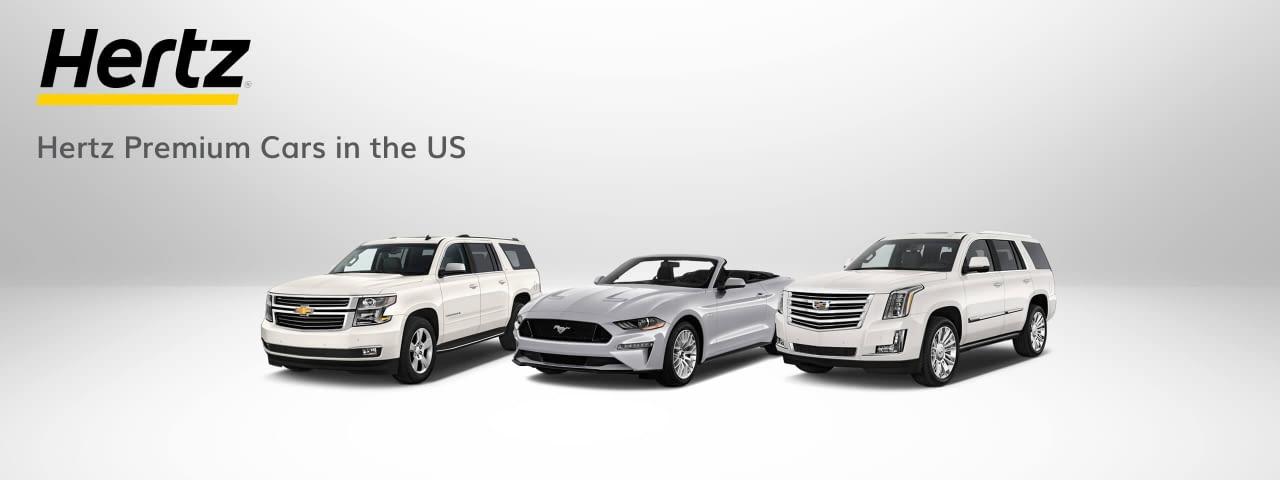 hertz premium cars us