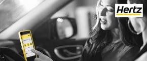 hertz autovermietung gelbes phone online