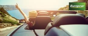 europcar cabrio mietwagen meer frau mit hut fotolia 118182213