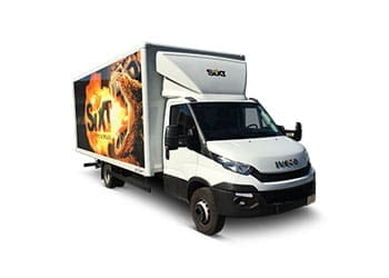 sixt iveco daily 7,2 t koffer mit hebebühne