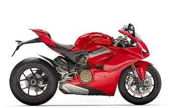 ducati panigale v4 red rechts