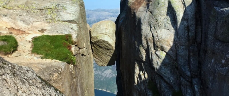 norwegen kjeragbolten lysefjord südnorwegen