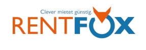 RENTFOX Logo - Clever mietet günstig