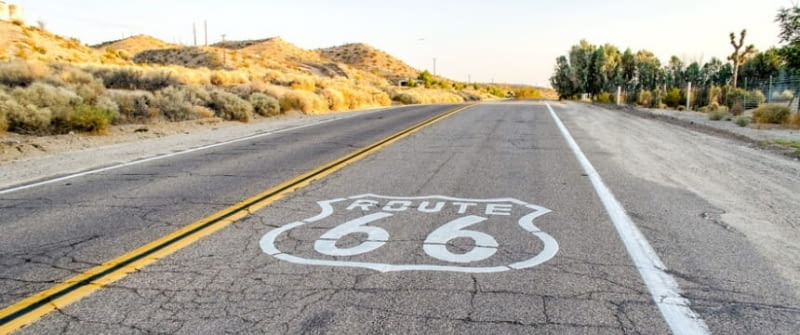 route 66 kalifornien, california, usa
