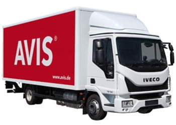 avis iveco daily 7,5 t koffer