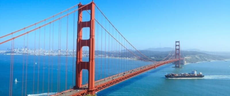 golden gate bridge san francisco kalifornien